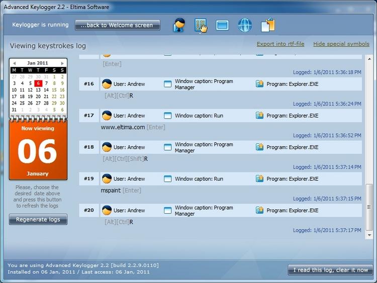 Программа KeyLog Reader 2.0.6 Программа шпион, предназначена для.