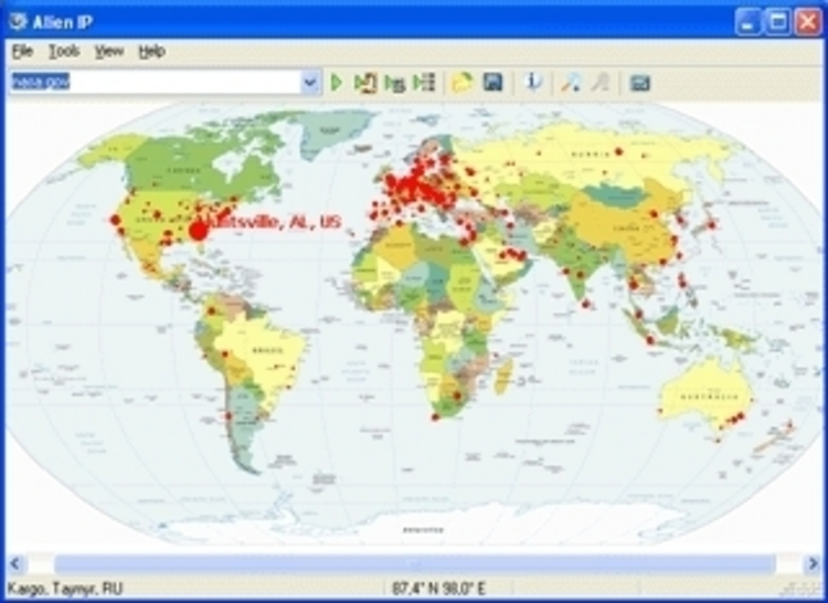 Map Ip Address Country