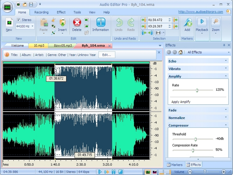 Top 10 free audio editor 2018 download best music editing software.