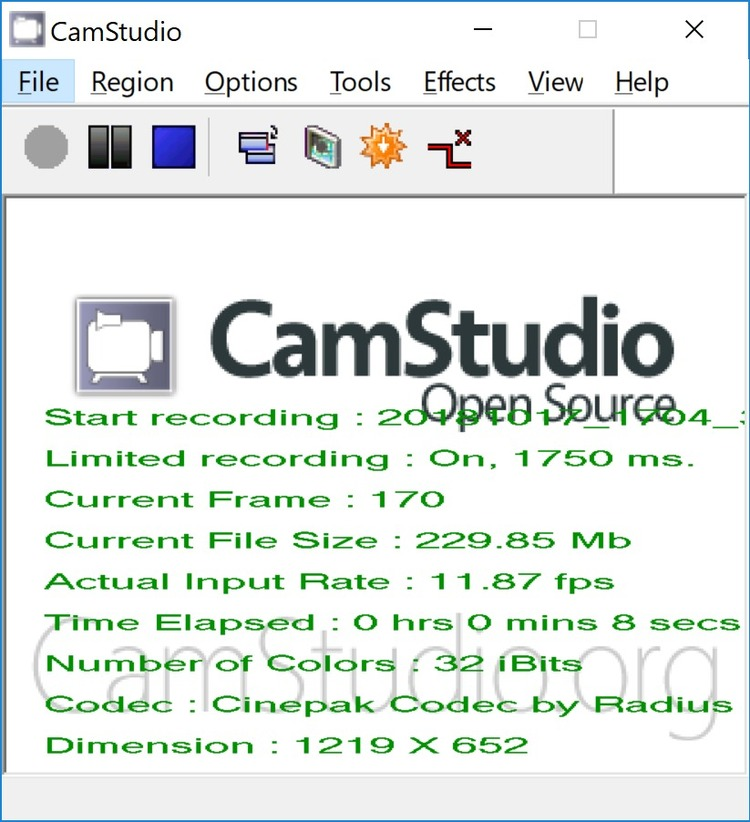 Camstudio Download Free Windows