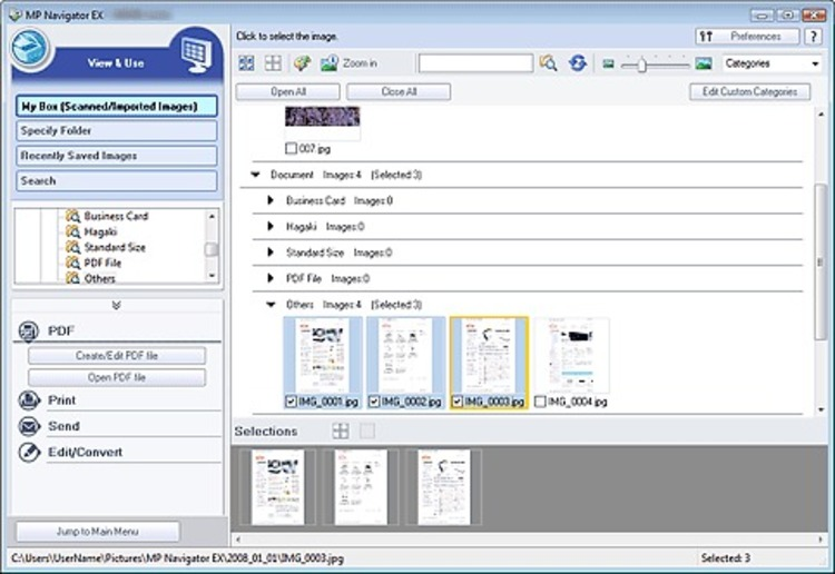 download mp navigator ex