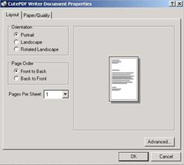 CutePDF Writer - Download Cutepdf Writer