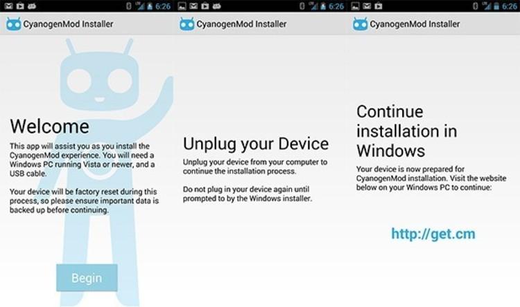 Cyanogenmod. скачать