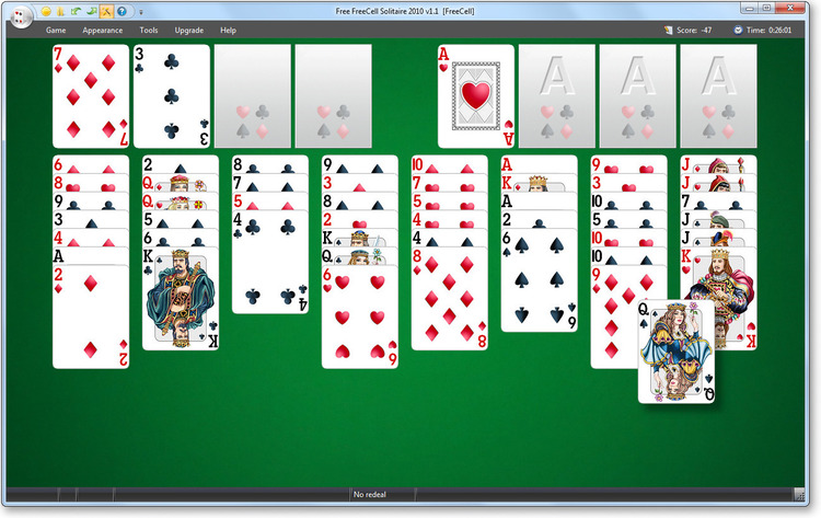 Download Free FreeCell Solitaire 3.1