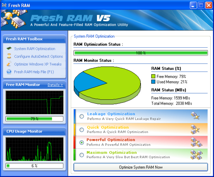 Fresh ram 5.0.0 award winning ram optimization solution 48 hr giveaway offer