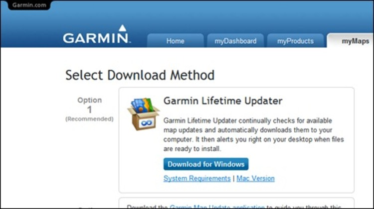 Download Garmin Lifetime Updater - Free garmin maps downloads