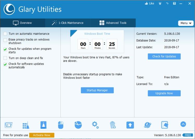 Glary Utilities Free Download