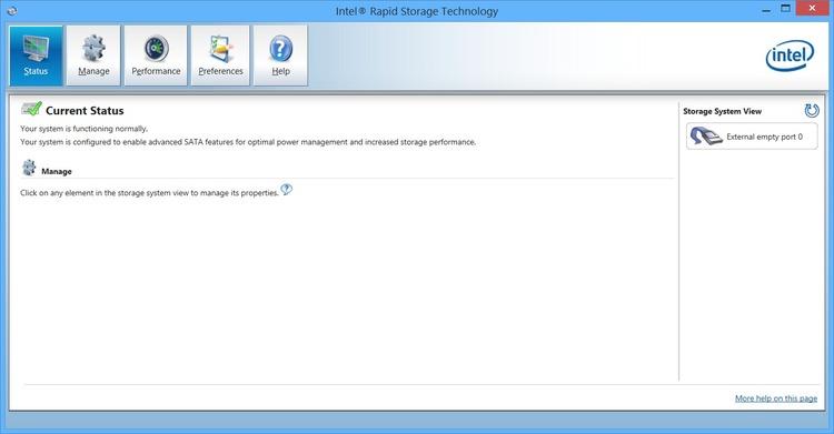 Intel Rapid Storage Technology - download.cnet.com