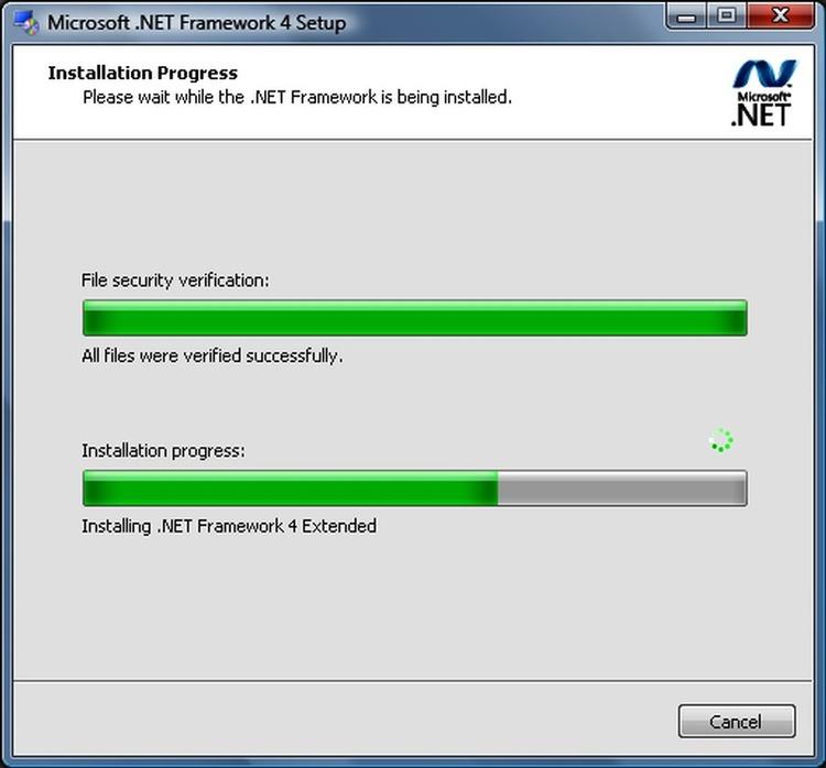 Microsoft .NET Framework Extended Screenshot: canadiancontent.net/tech/download/microsoft_framework_4_extended.html