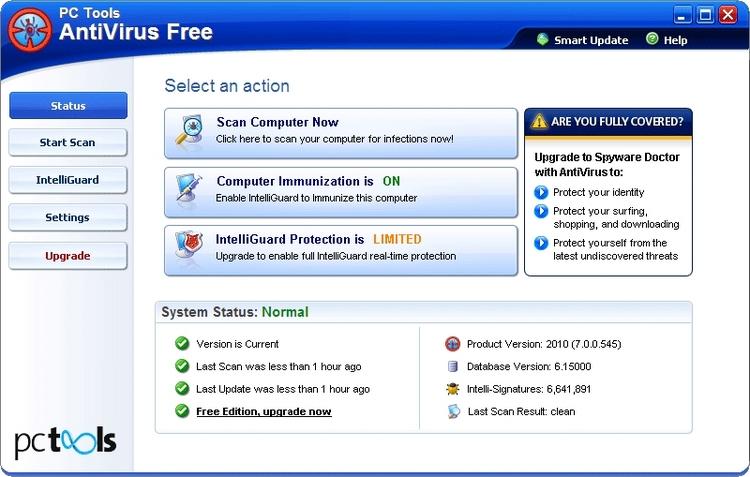 Антивирус Freeware img-1