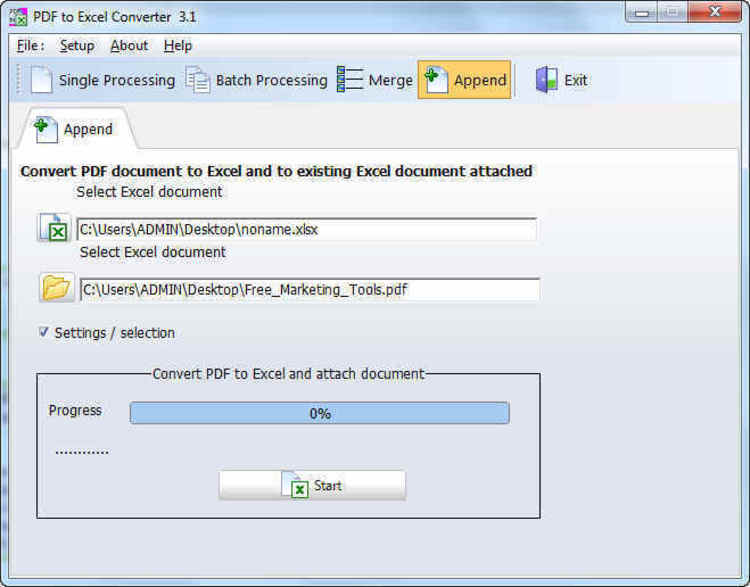 program converter pdf to excel