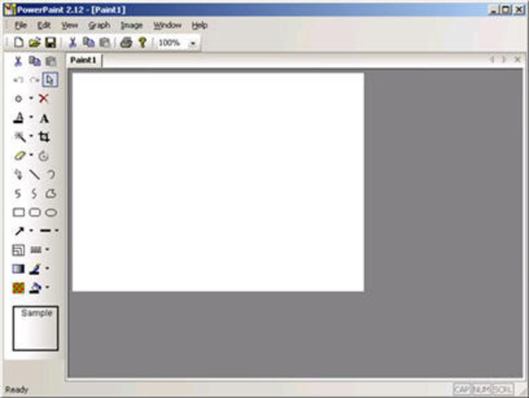 PowerPaint скачать,графический редактор пэйнт инструменты редактирование ри