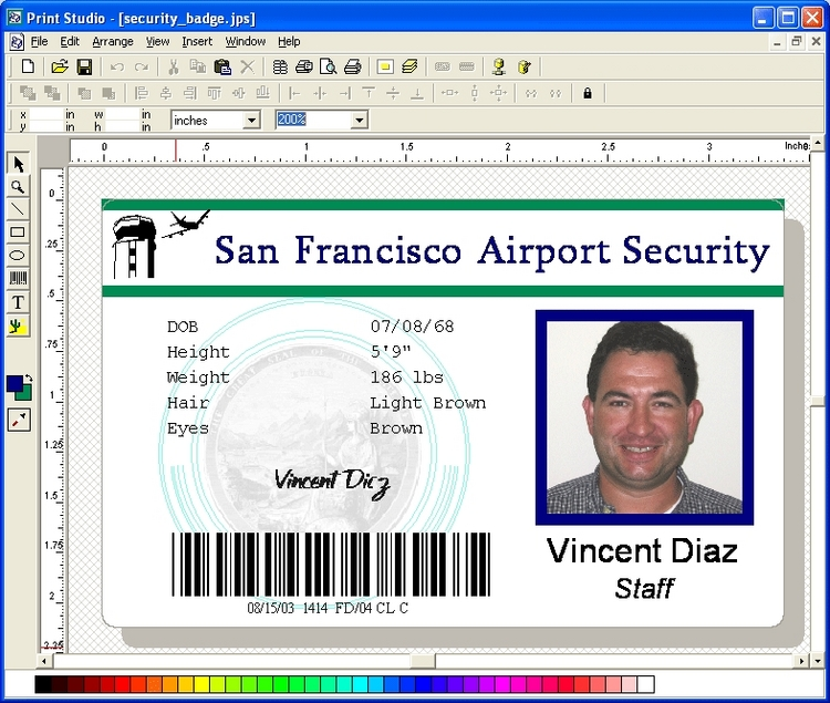 Download Print Studio Photo ID Card Software 6.7 (x64 & x32)