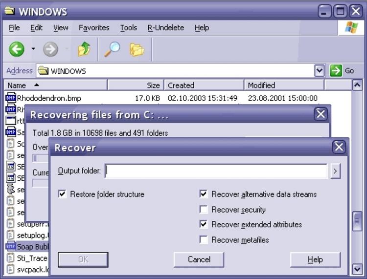 R-undelete 4.7 Serial - фото 6