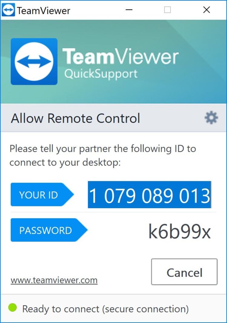 Teamviewer Quicksupport 13