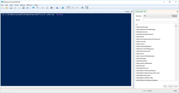 Finding PowerShell in Windows Server versions