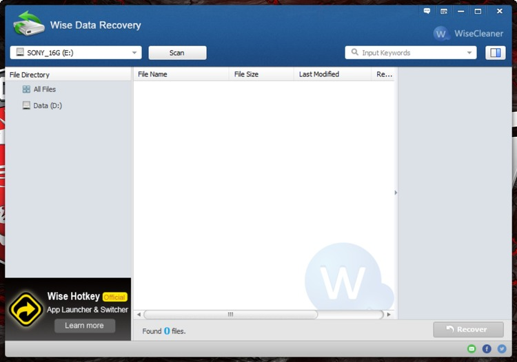 تحميل اقوى برنامج لاستعادة الملفات المحذوفة Wise Data Recovery 3.19 باخر اصداراته