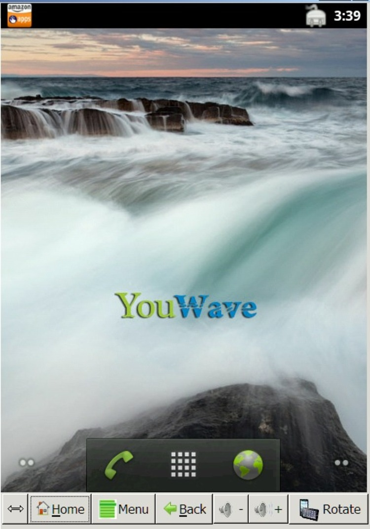 YouWave for Android Home - Download for PC Free